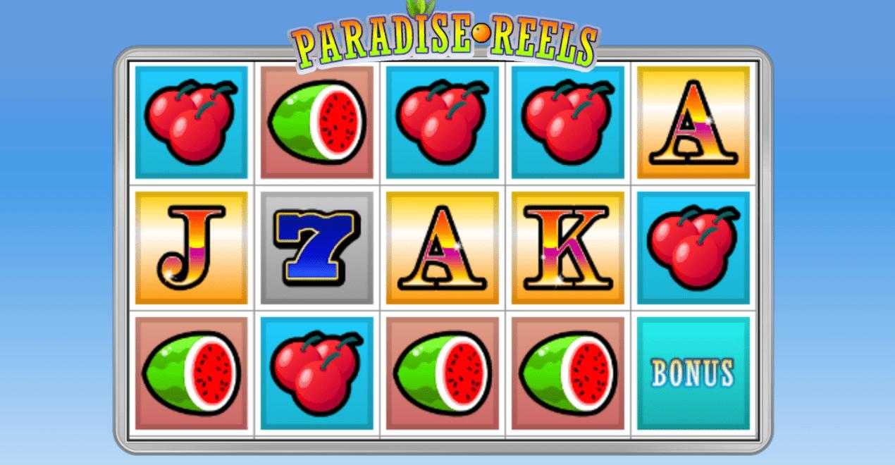 paradise reels online game play