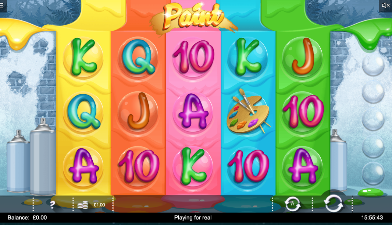 paint slots game online play