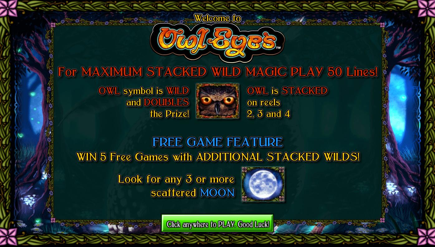 owl eyes game slots