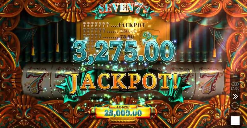 Seven 7s Slots Mega Reel