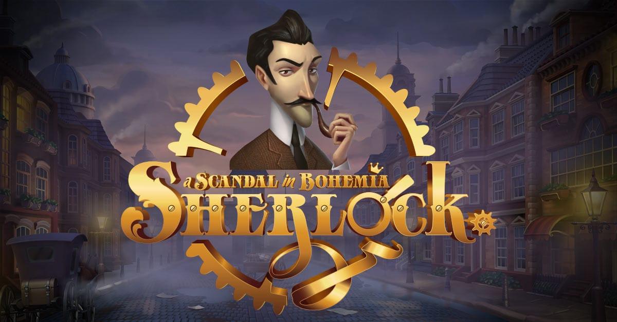 Sherlock: A Scandal in Bohemia Slot Logo Mega Reel