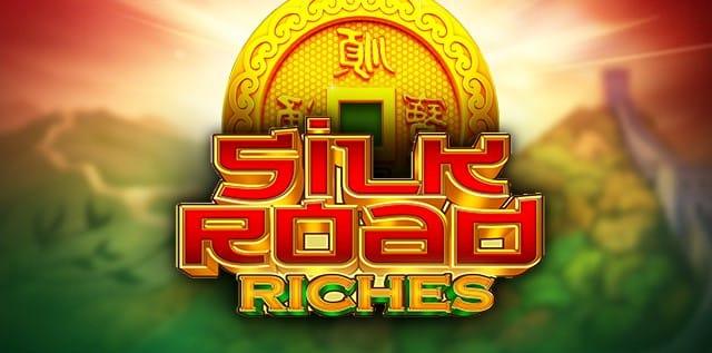 Silk Road Riches Slot Logo Mega Reel