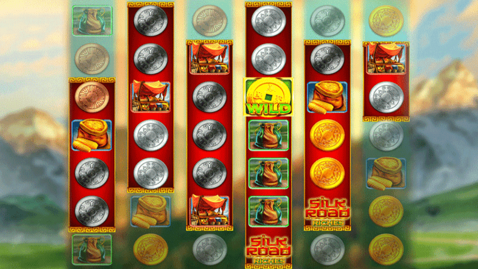 Silk Road Riches Slots Reels