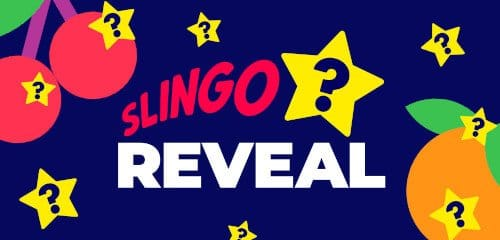 Slingo Reveal Slot Logo Reel