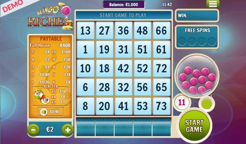 Slingo Riches Slot Game