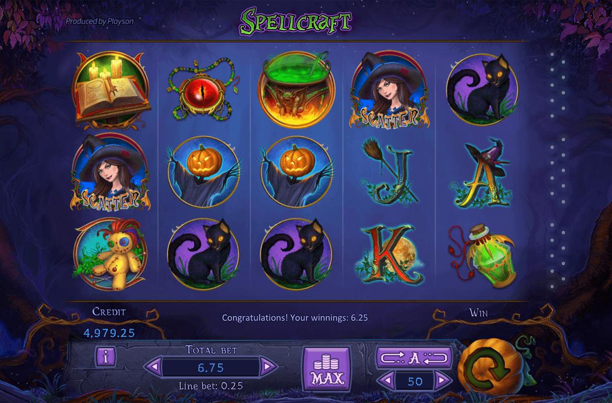 Spellcraft Slots Online