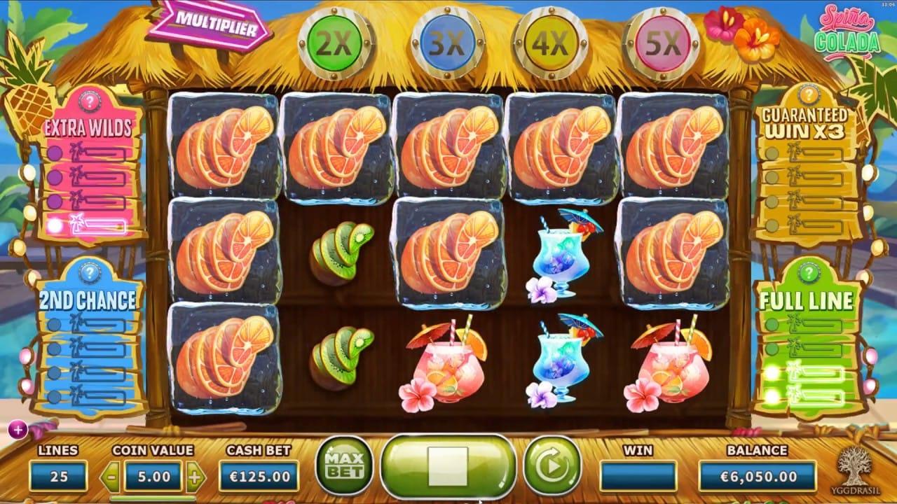 Spina Colada slots online