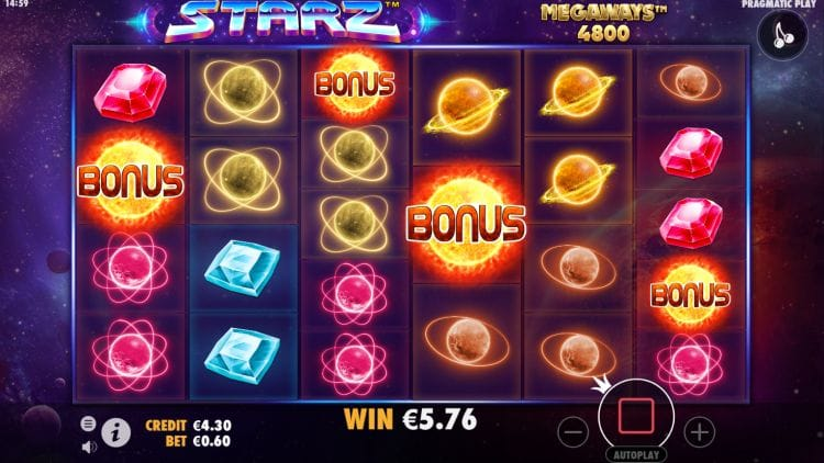 Starz MegaWays Slots Game