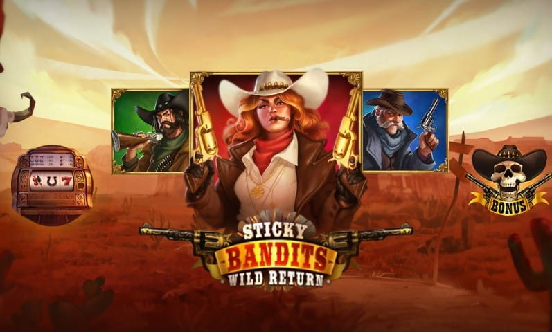 Sticky Bandits Slots Features