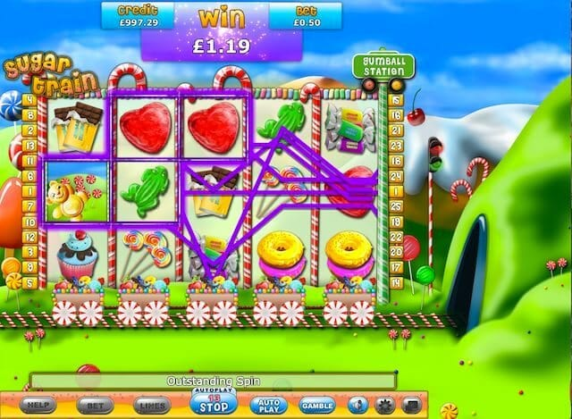 Sugar Train Slots Online