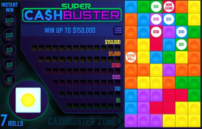 Super Cash Busters Slots Mega Reel