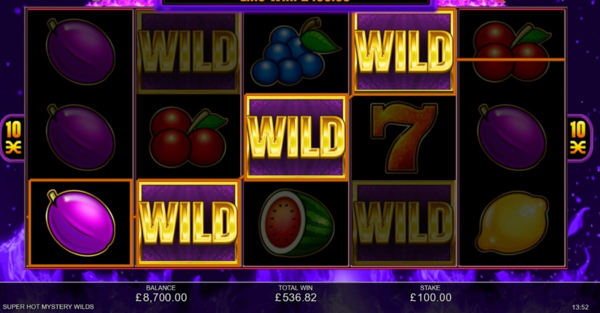Super Hot Mystery Wilds Slot Game