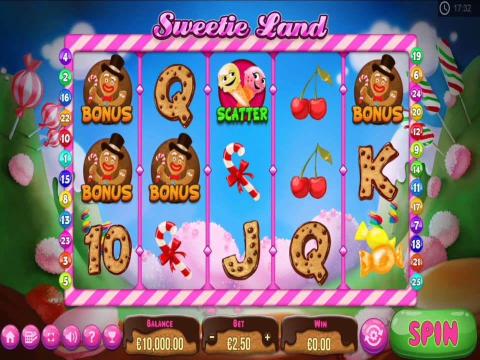 Sweetie Land Slot Game Play