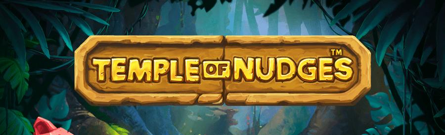 Temple of Nudges Slot Logo Mega Reel