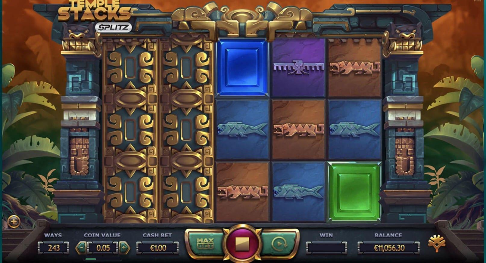 Temple Stacks: Splits Slot Game