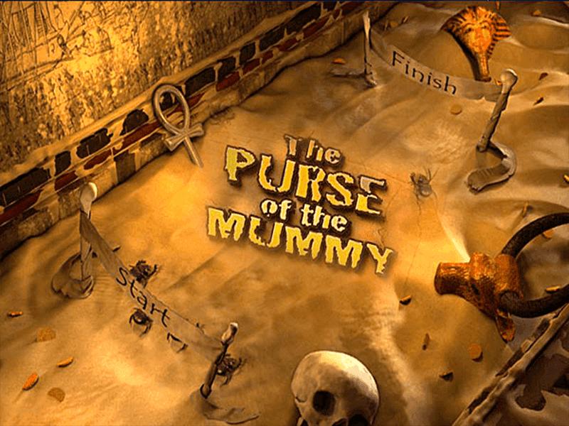 The Purse of the Mummy Slot Logo Mega Reel