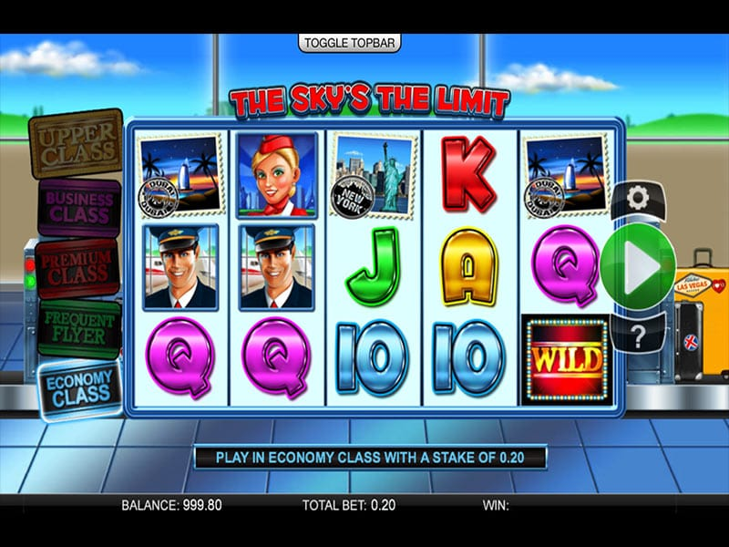 The Sky's the Limit slots