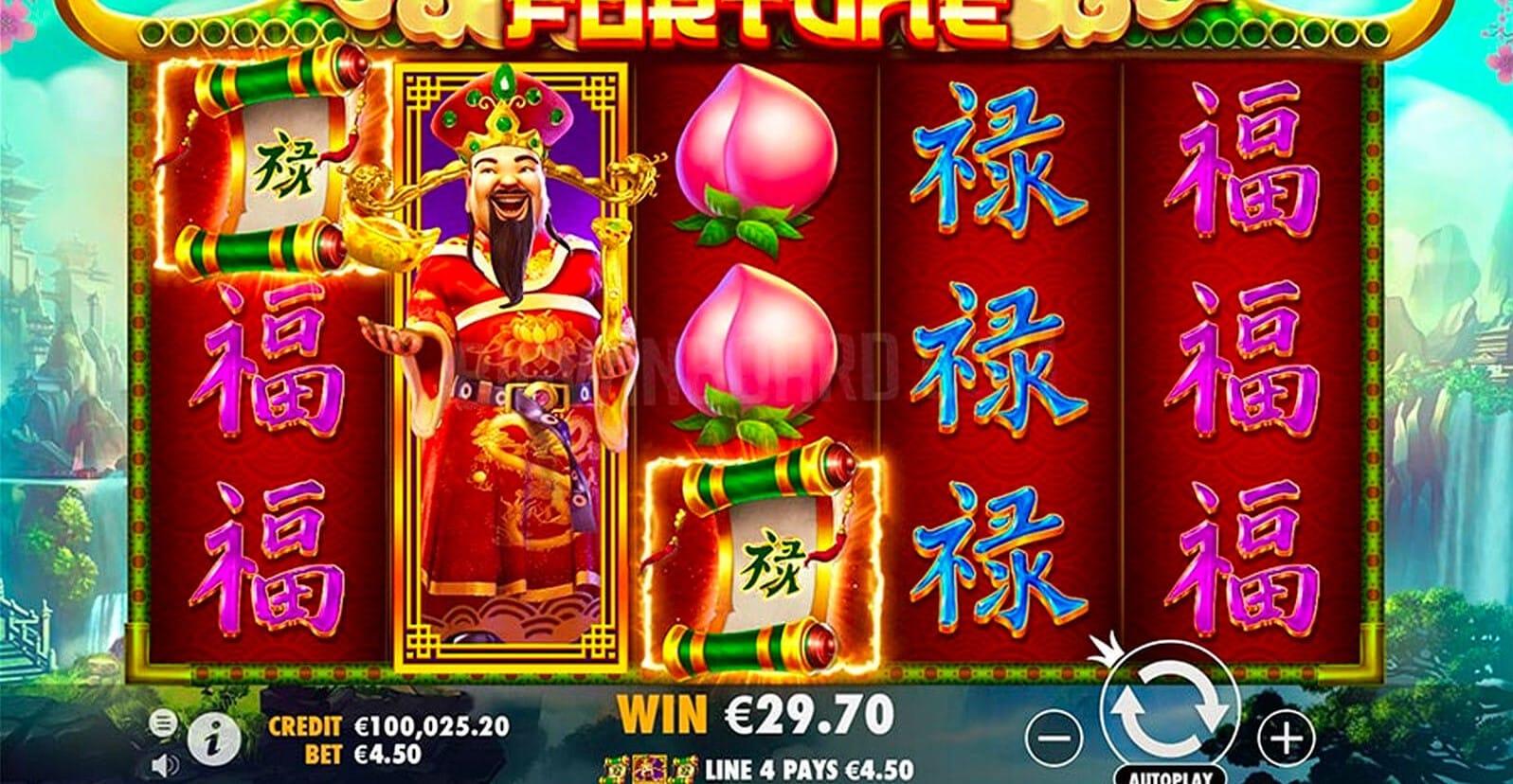 Three Star Fortune Slots Online