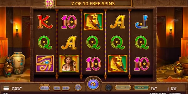 Tomb of the King Slot Game