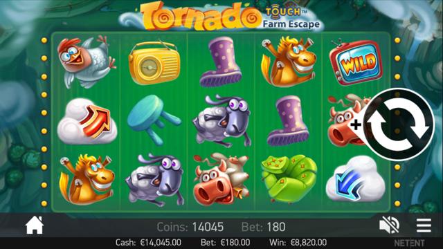 Tornado: Farm Escape slots
