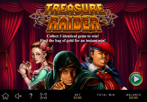 Treasure Raiders Slots UK