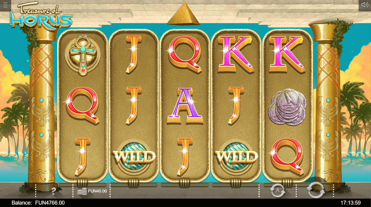 Treasure of Horus slots