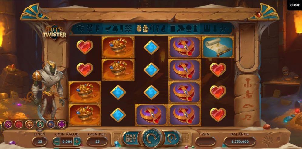 Tut's Twister Slots Online