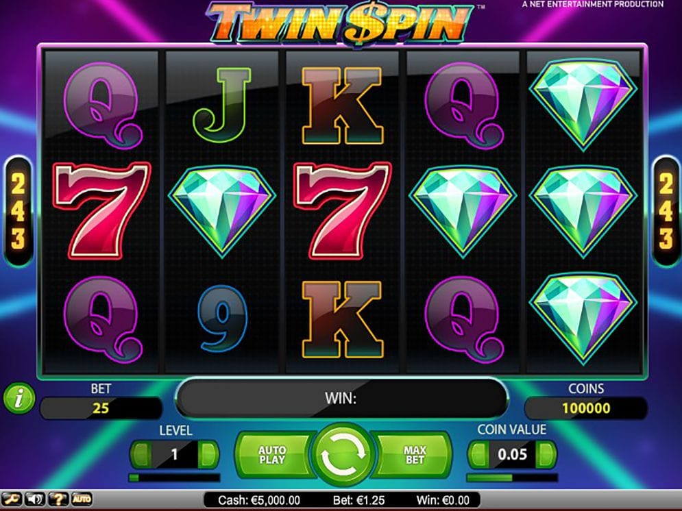 Twin Spin slots online