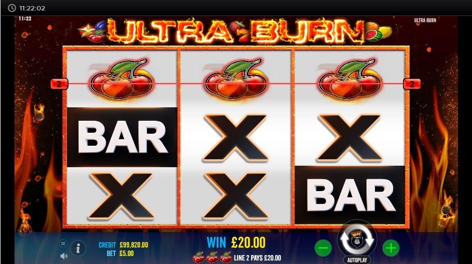 Ultra Burn Slot UK