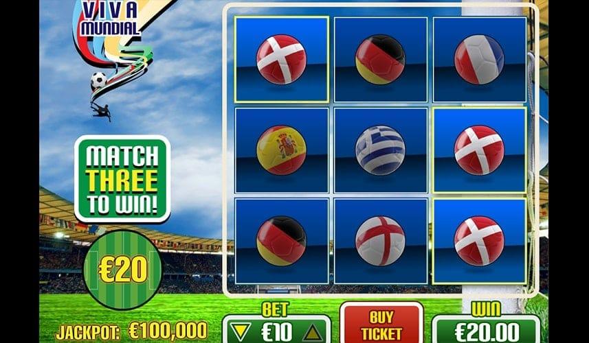 Viva Mundial slots UK