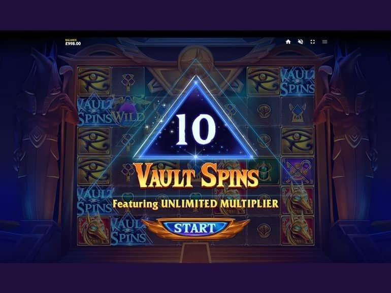 Vault of Anubis Slot Free Spins