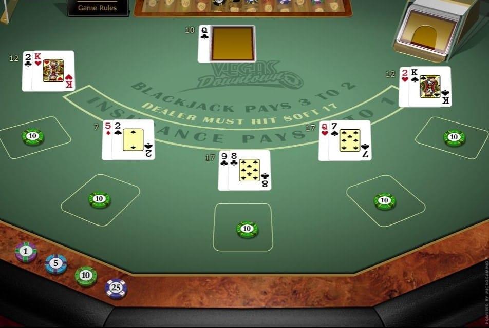 Vegas Downtown Blackjack Online