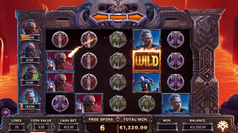 Vikings Go To Hell slot mega reel
