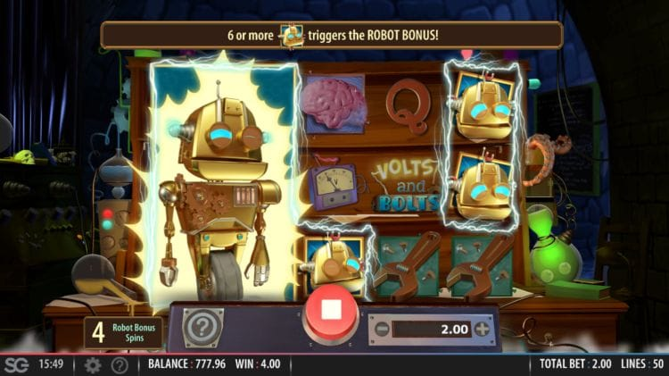 Volts and Bolts Slots Casino