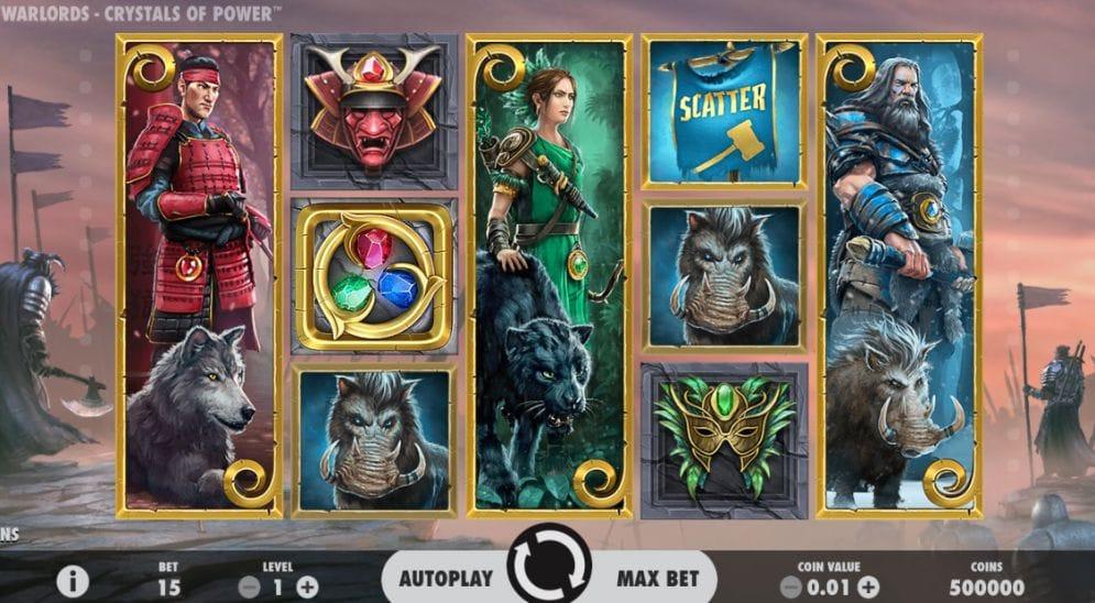 Warlords – Crystals of Power slots