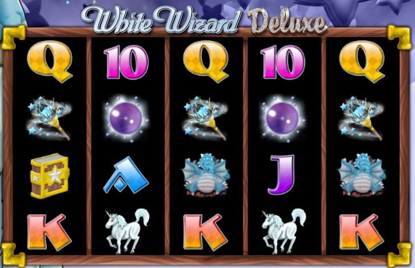 White Wizard Deluxe slot