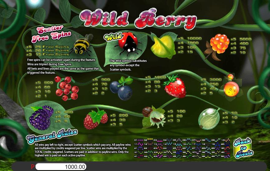 Wild Berry slot