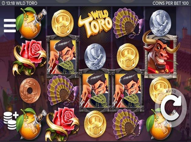 Wild Toro slots