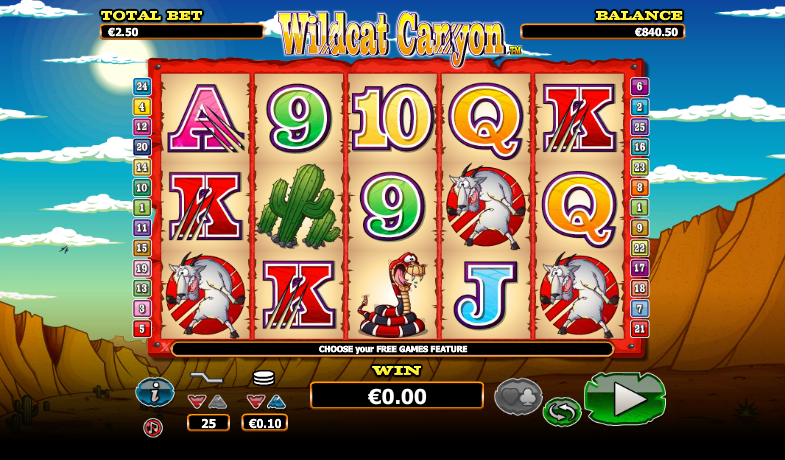 Wildcat Canyon Slots