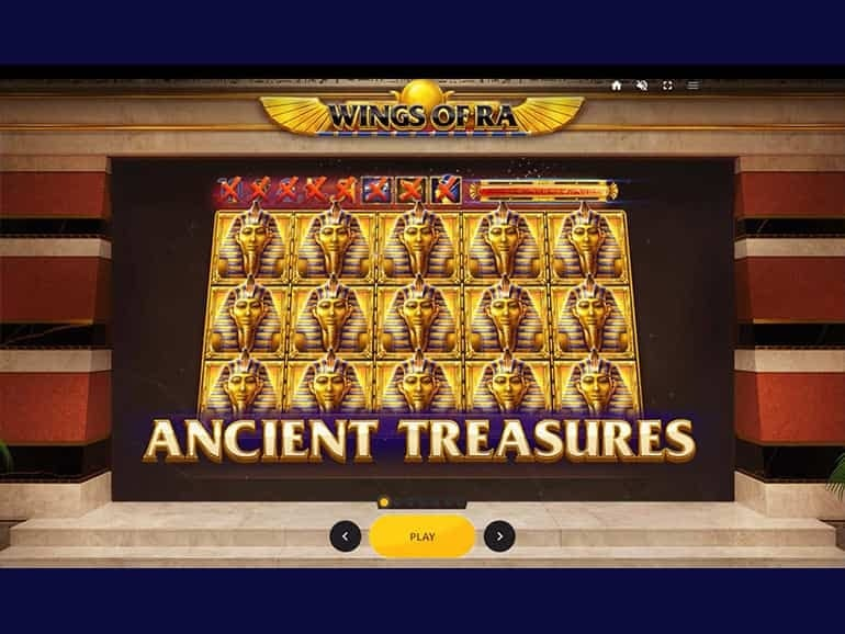 Wings of Ra Slot Bonus Game