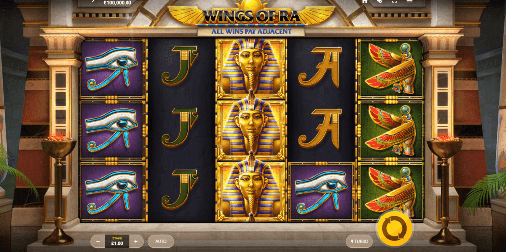 Wings of Ra Slots Game