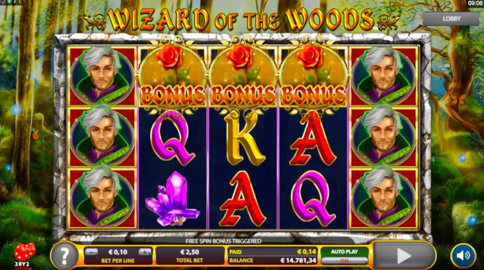 Wizard of the Woods Slots Online