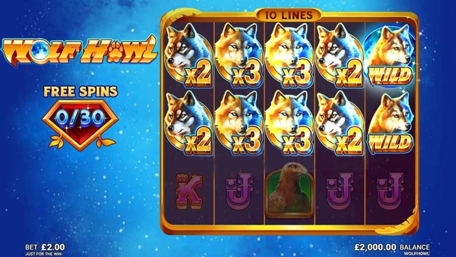 Wolf Howl Free Spins Slots