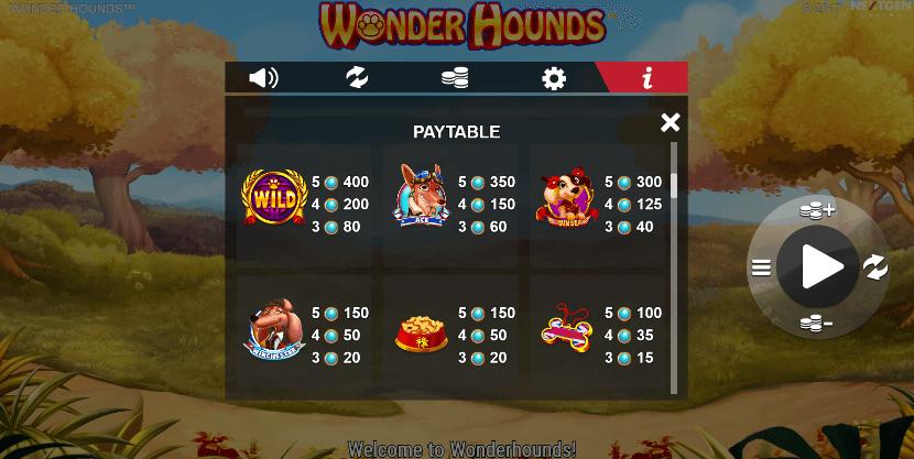Wonder Hounds Slot