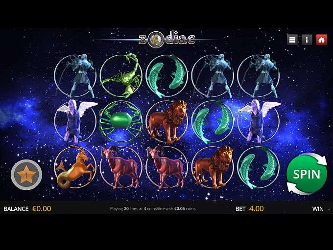 Zodiac Slot Game play