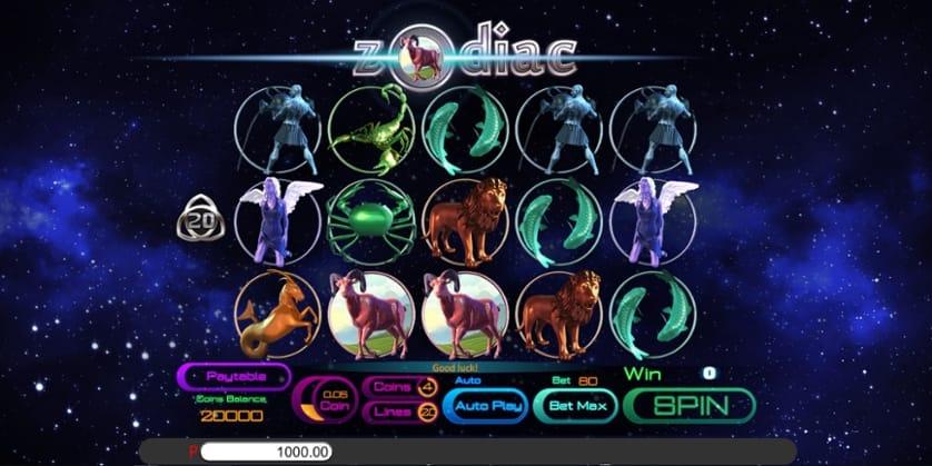 Zodiac Slots Reels