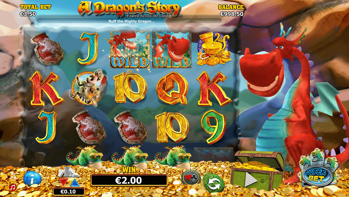 A Dragon's Story slots Online