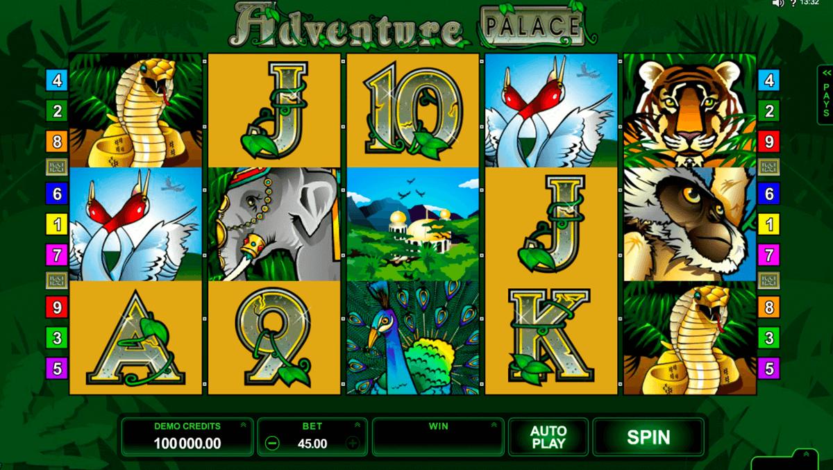 adventure palace online slot machine