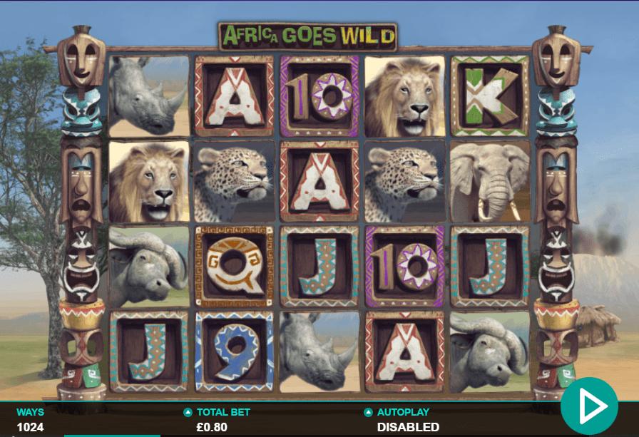 Africa Goes Wild Gameplay