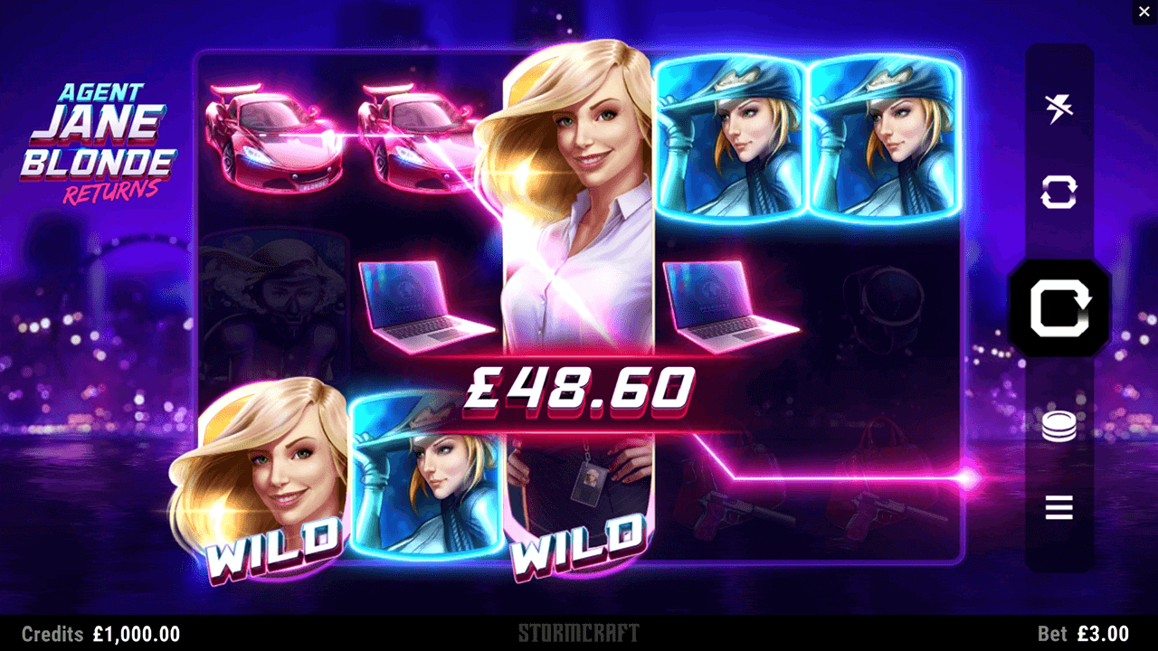 Agent Jane Blonde Returns Slots Online
